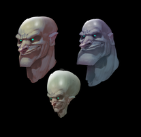 Heads by Gimaldinov