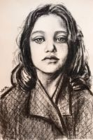 Study of a young girl by akrathan