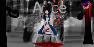 Alice madness: the first iv made. by ArtIsLife512