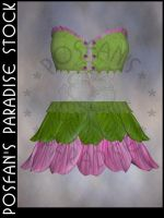 Fairy Flower Outfit 005 by poserfan-stock