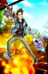 Rubius Sunset Overdrive by Xxinnon