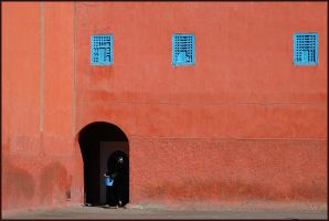 Blue Blue Red by doriano