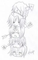 GazettE - Chibis by Killer-show