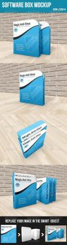 Software Box Mockup by graphickey