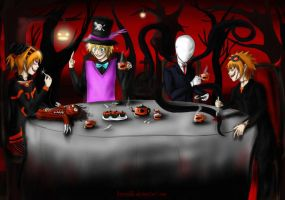 Halloween Tea Party by Juuria66