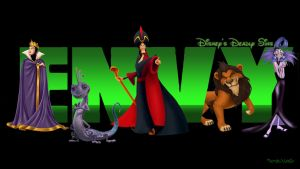Disney's Deadly Sins: Envy by trentsxwife
