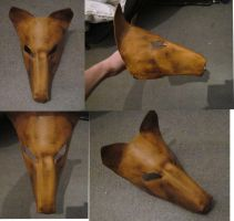 leather wolf mask v1 by bravo9653