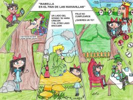 isabella P-D-M a color by firerirock