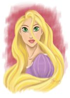 Portrait of a Princess: Rapunzel by Tella-in-SA