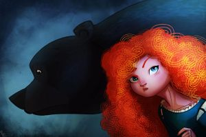 Merida Again by PandaFace