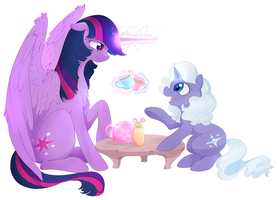 Tell Me About Your Day.. by HoofBeatDriven