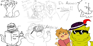 I should really be doing answers but... by AskPewDie-The-Cat