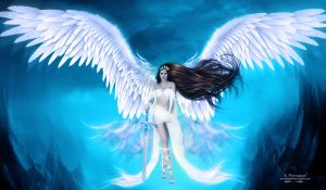 The angel 2 by annemaria48