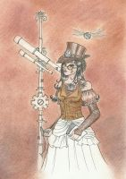 Steampunk  - 5. coloring by Waldbraut