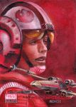 Luke and his X-Wing AP by kohse
