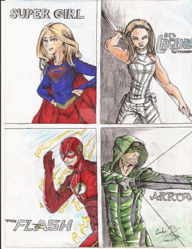 DC Crossover by X-Force02ranger