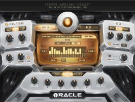 Oracle Hybrid Kontakt Library Gui design by ScottKaneGUIs