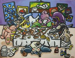 The Last Supper by starbuxx