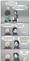 and cue laughtrack -MGS4- by zarla