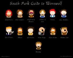 South Park Guide to Werewolf by walkingstranger