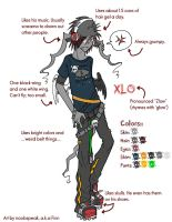 Xlo Character Sheet by kroric