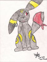 dusk the umbreon by pandabear0223