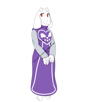Tori - Undertale Fanart by The-One-Eyed-Ghoul