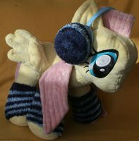 Custom My Little Pony Plush Winter Fluttershy 2 by eponyart