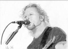 James Hetfield by Moppi