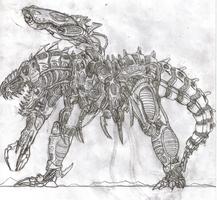 Mecha Rex: Machine Of War by TITANOSAUR