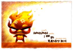 i am an angry devil by GuGGGar