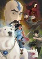 Legend of Korra by plainage