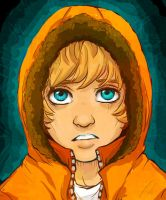 The Boy in the Orange Hood... by eviltt