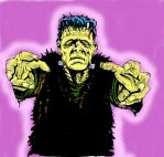 frankenstein monster by Justin-Mabry