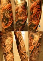 left sleeve so far tattoo by metalheart1987