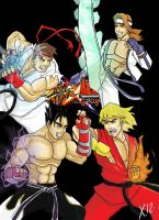 Street Fighter X Tekken by Xavtkd