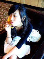 Sighing with the bananaphone by Mushypork