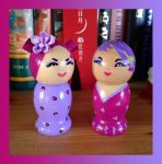 BBF kokeshi by broom-rider