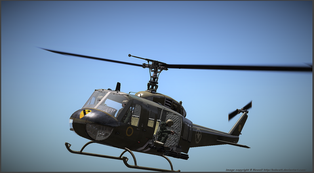 UH1H Arma3 by bobcatt