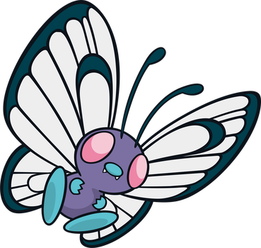 Butterfree by MonsterMMORPG