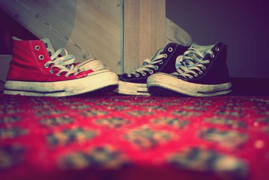 Converse is the shoe by KiwiXD