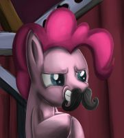 I'll Wear This Mustache! by SammyTheDoodler