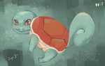 Squirtle by Sugar-Fen