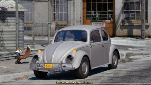 Grey Beetle by Lynxander