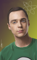 The Big Bang Theory - Sheldon by ArchXAngel20