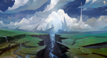 Speedpaint: River by haryarti