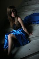 Blue dress by ParadisoTerrestre