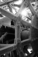 Ice on mississippi boat - I by MoonfarrierFX