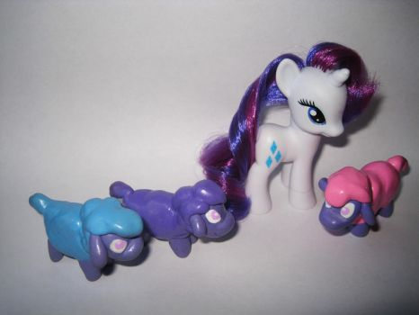 Tiny Ewes MLP Figures by RiftwingDesigns