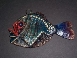 deep sea fish pendant by hibbary